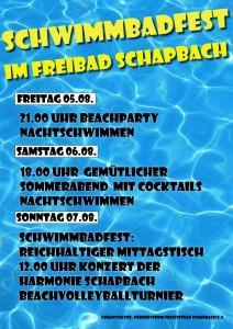 Beachparty Plakat 2016